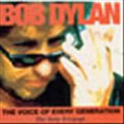 Bob Dylan The Voice Of Every Generation UK CD single Promo