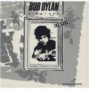 Bob Dylan Time Passes Slowly USA vinyl LP Promo
