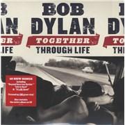 Bob Dylan Together Through Life + CD - Sealed UK 2-LP vinyl set
