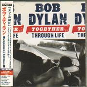Bob Dylan Together Through Life Japan 2-disc CD/DVD set Promo