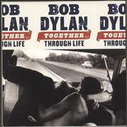 Bob Dylan Together Through Life UK 3-disc CD/DVD Set