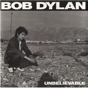 "Bob Dylan Unbelievable UK 7"" vinyl"