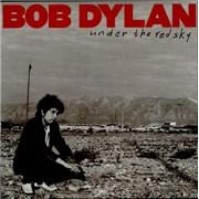 Bob Dylan Under The Red Sky UK vinyl LP