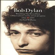 Bob Dylan Watching The River Flow UK book