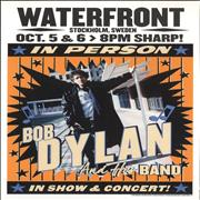 Click here for more info about 'Bob Dylan - Waterfront Stockholm 2015 October Lithograph'