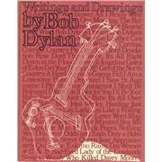 Bob Dylan Writings And Drawings - EX UK book