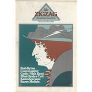 Bob Dylan Zig Zag #58 UK magazine
