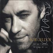Click here for more info about 'Bob Geldof - Great Songs Of Indifference - Autographed'