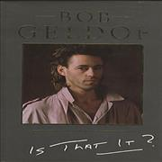 Click here for more info about 'Bob Geldof - Is That It'