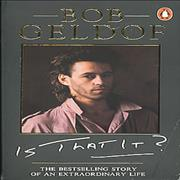 Click here for more info about 'Bob Geldof - Is That It?'