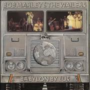 Click here for more info about 'Bob Marley - Babylon By Bus - Blue Label - die-cut p/s + poster'