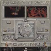 Click here for more info about 'Bob Marley - Babylon By Bus - Blue Label - die-cut p/s'
