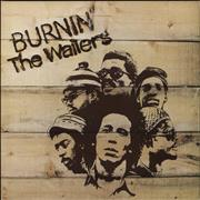 Click here for more info about 'Bob Marley - Burnin' - 2nd - EX'