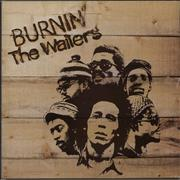 Click here for more info about 'Bob Marley - Burnin' - Blue Label'