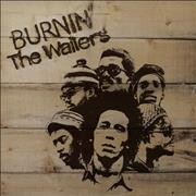 Click here for more info about 'Bob Marley - Burnin' - 1st'