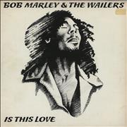Click here for more info about 'Bob Marley - Is This Love - P/S'