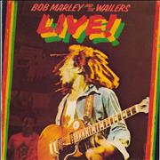 Click here for more info about 'Bob Marley - Live! - EX'