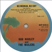 Click here for more info about 'Bob Marley - No Woman, No Cry - Solid Centre'