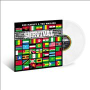 Click here for more info about 'Bob Marley - Survival - 180 Gram Clear Vinyl - Sealed'