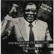 Click here for more info about 'Bob Marley - Zimbabwe + Mugabe Sleeve'