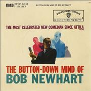 Click here for more info about 'Bob Newhart - The Button-Down Mind Of Bob Newhart EP'