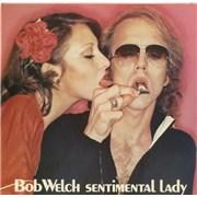 "Bob Welch Sentimental Lady UK 7"" vinyl Promo"