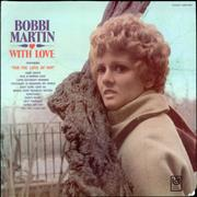 Bobbi Martin With Love USA vinyl LP