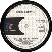 Click here for more info about 'Bobby Caldwell - What You Won't Do For Love'