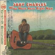 Bobby Charles Wish You Were Here Right Now Japan CD album Promo