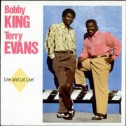 Click here for more info about 'Bobby King & Terry Evans - Live And Let Live!'