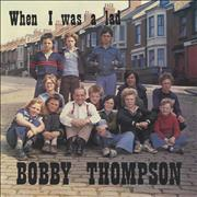 "Bobby Thompson When I Was A Lad UK 7"" vinyl"