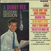 Click here for more info about 'Bobby Vee - A Bobby Vee Recording Session'