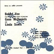 Click here for more info about 'Bobby Vee - Bobby Vee with Gene McDaniels & Linda Scott'