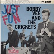 Click here for more info about 'Bobby Vee - Just For Fun EP'
