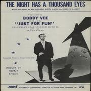 Click here for more info about 'Bobby Vee - The Night Has A Thousand Eyes'