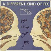 Click here for more info about 'Bombay Bicycle Club - A Different Kind Of Fix - Fully Autographed'