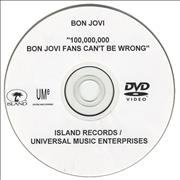 Click here for more info about 'Bon Jovi - 100,000,000 Bon Jovi Fans Can't Be Wrong'