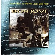 Click here for more info about 'Bon Jovi - Bed Of Roses + Poster'