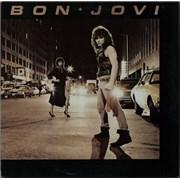 Bon Jovi Bon Jovi UK vinyl LP