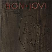 Click here for more info about 'Bon Jovi - Born To Be My Baby - Glossy'