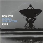 Click here for more info about 'Bon Jovi - Bounce World Tour 2003 + Ticket'
