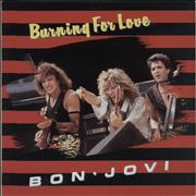 Click here for more info about 'Bon Jovi - Burning For Love - EX'