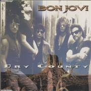 Click here for more info about 'Bon Jovi - Dry County - Gold Cd - promo'