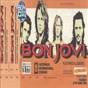 Click here for more info about 'Bon Jovi - Gateshead International Stadium and Don Valley Stadium'