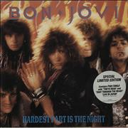 "Bon Jovi Hardest Part Is The Night - Double Pack UK 7"" vinyl"