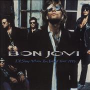 Click here for more info about 'Bon Jovi - I'll Sleep When I'm Dead + Ticket Stub'