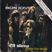 Click here for more info about 'Bon Jovi - I'll Sleep When I'm Dead - EX'