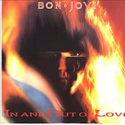 "Bon Jovi In And Out Of Love UK 12"" vinyl"