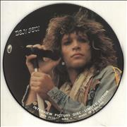 Click here for more info about 'Bon Jovi - Interview Picture Disc'