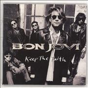 Click here for more info about 'Bon Jovi - Keep The Faith - Picture'